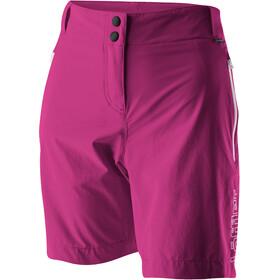 Löffler Comfort Stretch Light Trekking Shorts Extra Kort Dames, berry